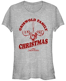 National Lampoon's Christmas Vacation Griswold Family Moose Ornament Women's Short Sleeve T-Shirt