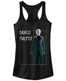 Harry Potter Draco Malfoy Portrait Women's Racerback Tank