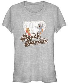 Tom And Jerry Retro Distressed Beach Bandits Women's Short Sleeve T-Shirt