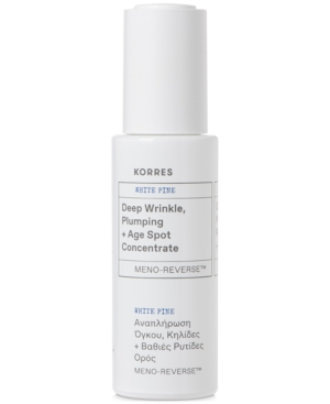 Korres White Pine Meno-Reverse Deep Wrinkle, Plumping + Age Spot Concentrate