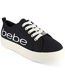 bebe Women's Destini Logo Sneakers