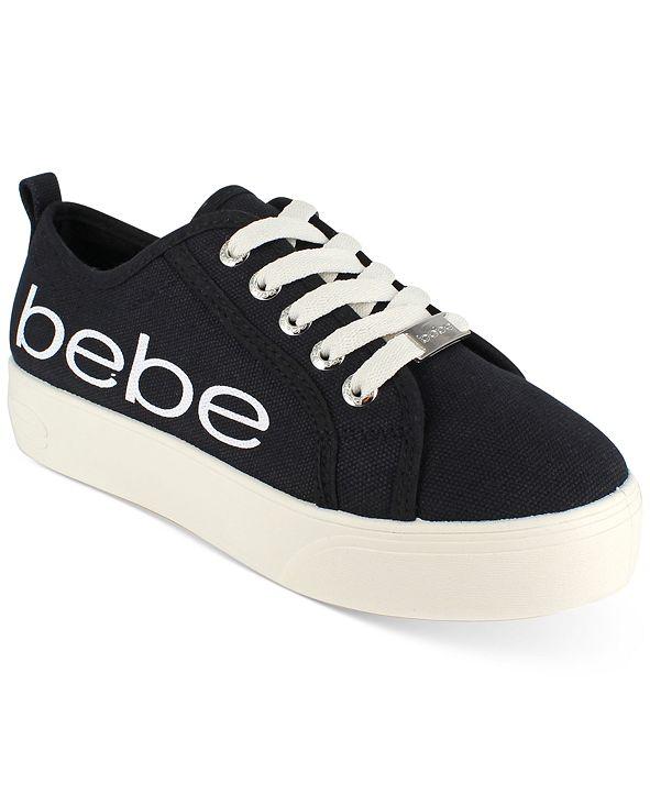 bebe bebe Women's Destini Logo Sneakers