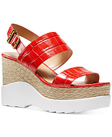 Michael Michael Kors Rhett Wedge Sandals