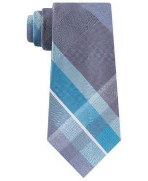 Kenneth Cole Reaction Men's Crosswalk Plaid Tie