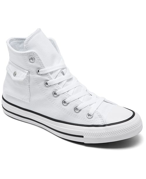 Converse Unisex Chuck Taylor All Star Pocket High Top Casual Sneakers from Finish Line