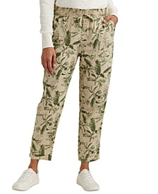 Teigen Printed Drawstring Pants