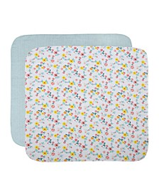 Cuddle & Cribs Flannel Receiving Blanket, pack of 2