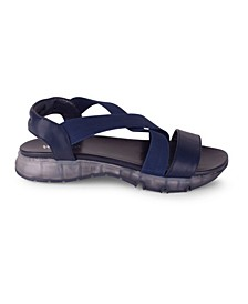 RENEE Women's Sandal with Stretch Straps