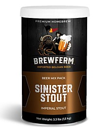 Buckriders Craft Brew Mix - Sinister Stout, 3.3 lbs