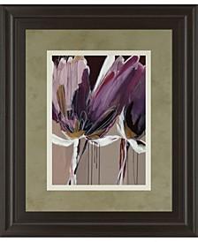 Aubergine Splendor by Angela Marita Framed Print Wall Art Collection