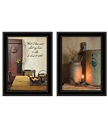 Trendy Decor 4u What I Love Most 2-piece Vignette by Susie Boyer Collection