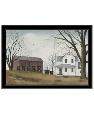 Sunday Service by Billy Jacobs, Ready to hang Framed Print, White Frame, 33