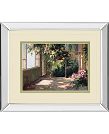 Atriums First Light by Hali Mirror Framed Print Wall Art Collection