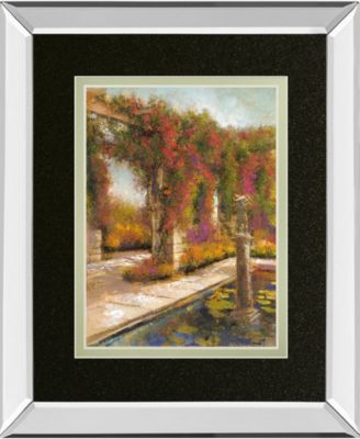 English Garden II by Patrick Mirror Framed Print Wall Art, 34