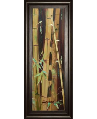 Bamboo Finale Il by Suzanne Wilkins Framed Print Wall Art - 18