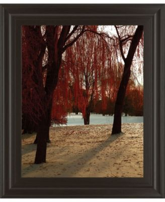 Autumn Snow II by Alicia Suave Framed Print Wall Art, 22
