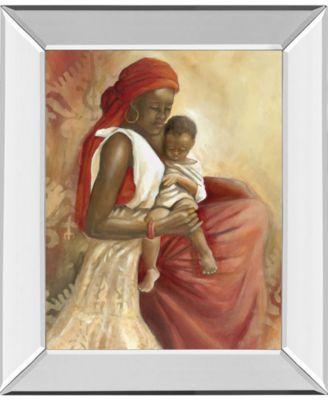 Beauty of Love II by Carol Robinson Mirror Framed Print Wall Art, 22