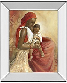 Beauty of Love by Carol Robinson Mirror Framed Print Wall Art Collection