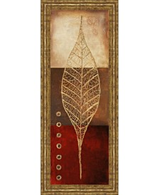Fossil Leaves by Patricia Pinto Framed Print Wall Art Collection