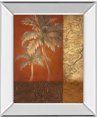 Boy Voyage I by Lanie Loreth Mirror Framed Print Wall Art, 22