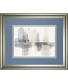Improvisation Gray Crop by Mike Schick Framed Print Wall Art Collection