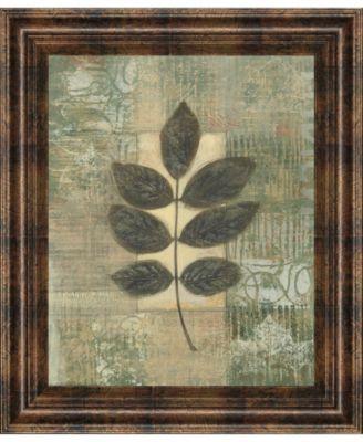 Leaf Textures II by Norman Wyatt, Jr. Framed Print Wall Art, 22