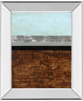 Textured Light II by Natalie Avondet Mirror Framed Print Wall Art, 22