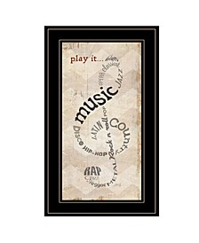 Trendy Decor 4U Play It by Marla Rae, Ready to hang Framed Print Collection