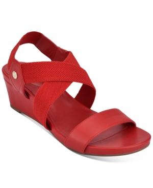 Bandolino Isadora Wedge Sandals Women's Shoes