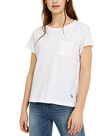 Calvin Klein Jeans Chest-Pocket Cotton T-Shirt