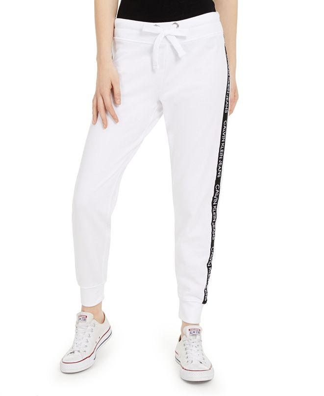 Calvin Klein Jeans Logo-Tape Jogger Pants