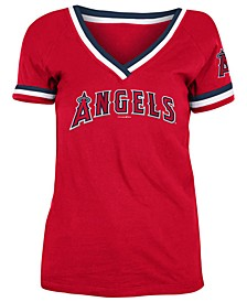 Los Angeles Angels Women's Contrast Binding T-Shirt