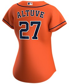 Houston Astros Women's Jose Altuve Official Player Replica Jersey
