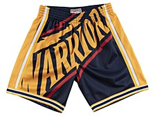 Golden State Warriors Men's Big Face Shorts