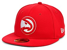 Atlanta Hawks The Circle Patch 59FIFTY-FITTED Cap