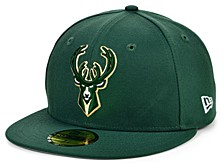 Milwaukee Bucks The Circle Patch 59FIFTY-FITTED Cap