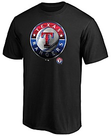 Texas Rangers Men's Midnight Mascot T-Shirt