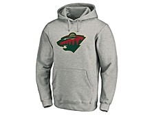 Minnesota Wild Men's Prime Logo Hoodie