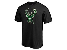 Milwaukee Bucks Men's Slash And Dash T-Shirt