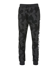 Men's 2 Color Camo Jogger with Branded Inset