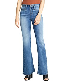High Note Flare-Leg Jeans