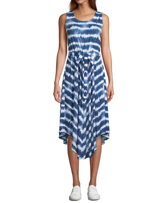 JPR - Sleeveless Tie-Dyed Maxi Dress