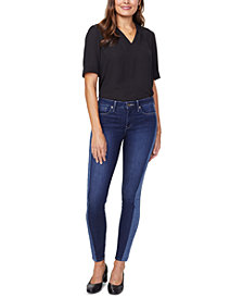 NYDJ Ami Side-Striped Skinny Tummy-Control Jeans