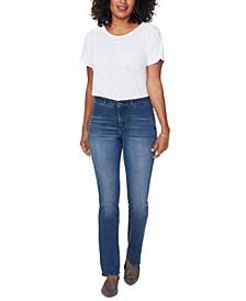 Barbara Contoured-Back Tummy-Control Jeans