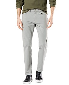 Men's Ultimate Slim-Straight Fit Smart 360 Flex® Stretch Jean-Cut Pants, Created for Macy's