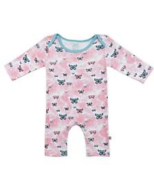 Baby Girls Butterflies Long Sleeve Bodysuit
