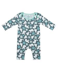 Baby Boys and Girls Snow Bears Long Sleeve Bodysuit