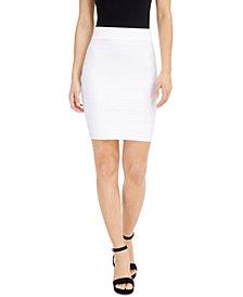 Bar III Bandage Mini Skirt, Created for Macy's