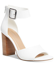 Madden Girl Harperr Two-Piece City Sandals