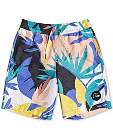 Big Boys No Destination Printed Swim Trunks